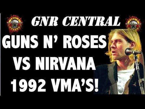 Guns N' Roses vs Nirvana: The True Story Behind the MTV Video Music Awards 1992!