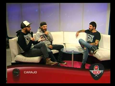 Carajo video Entrevista CM Rock - CM 2016