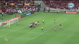 GOL .Flamengo 4x0 São Lourenço (Argentina)Data 08/03/2017 taça Libertadores da América