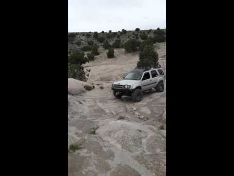 Nissan Xterra Playing At Little Moab