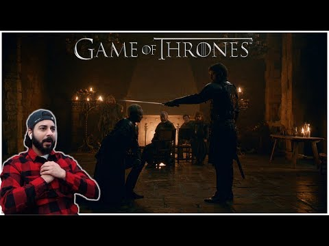 "Game of Thrones REACTION | 8x2 ""A Knight of the Seven Kingdoms"" - Part 2"