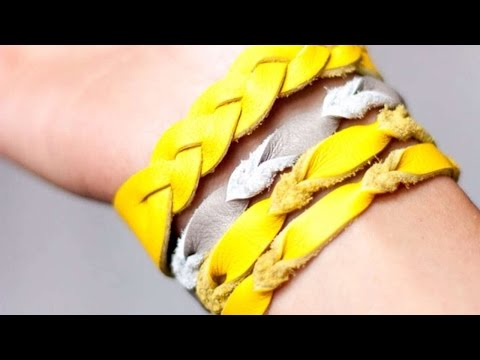 come creare un braccialetto dell'amicizia in pelle