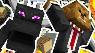 RUN AWAY FROM THE DRAGON!! - Minecraft Dragons Minigame