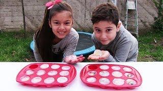 Video Buz Kırma Oyunu Donmuş Cupcake Challenge Minyonlar Vs Shopkins MP3, 3GP, MP4, WEBM, AVI, FLV November 2017