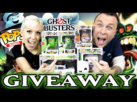GIVEAWAY! Win 5 Ghostbusters Funko POP! Vinyl Figures (Including a POP! Ride)