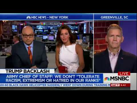 MSNBC Live with Velshi and Ruhle   Velshi destroys trump supporter on markets