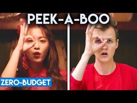 Video K-POP WITH ZERO BUDGET! (Red Velvet- Peek-A-Boo) download in MP3, 3GP, MP4, WEBM, AVI, FLV January 2017