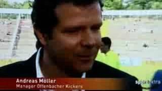 Möller und das seltsame Interview als Sportmanager in Offenbach