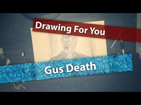 "How I draw ""Gus Death"" (Gustavo Fring from Breaking Bad) (Drawing For You in Time Lapse)"