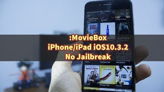 Hi Everyone, In this auick tutorial I am going to show you how to install Moviebox on your iphone or ipad running on the latest version of iOS 10.3.2 without jailbreak or computer.----------------------------------------------------------------------------------------------------------- Download link  : http://www.tweakboxapp.com/-----------------------------------------------------------------------------------------------------------Paypal Donation(1 dollar or less can be nothing for you but it will certainly help to get new equipment and continue working, so please if you feel that I deserve it don't hesitate and donate and let us grow together )----------------------------------------­­­­­­­­---------------------------------­-­-­-­-­-­-­-­--------------------------­-Facebook : https://www.facebook.com/pr0t3ch/Twitter:https://twitter.com/g33kyworldWebsite :http://www.t3chpro.com/-----------------------------------------------------------------------------------------------------------