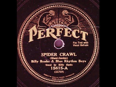 Billy Banks Blue Rhythm Boys: Spider Crawl 1932