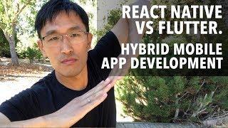 Video React Native vs Flutter vs WebView - Hybrid Mobile App Development for 2018 MP3, 3GP, MP4, WEBM, AVI, FLV Juli 2018