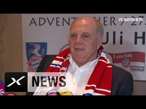 Bayern München: Uli Hoeneß über Carlo Ancelotti, Pep Gu ...