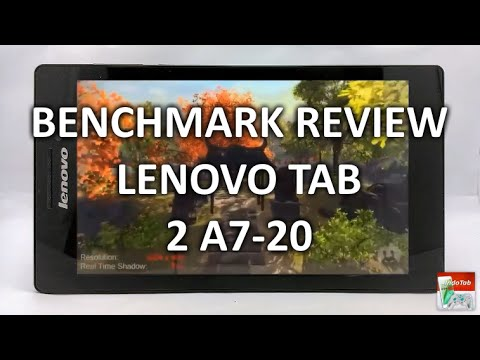 Lenovo Tab 2 A7-20 Review : Specifications & Performance