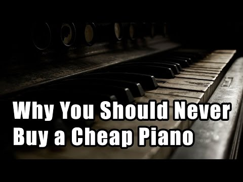 The myth of the $1,000 piano