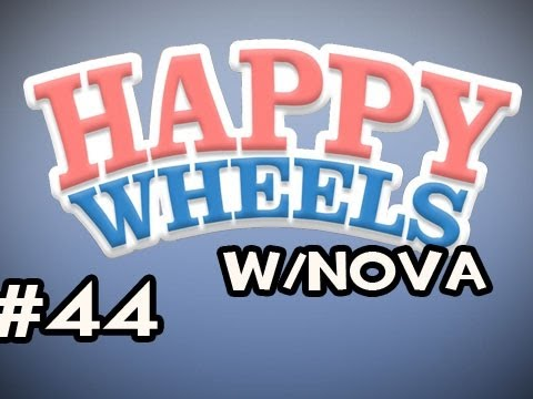 Happy Wheels w/Nova Ep.44 - Get On That Black Thing Video