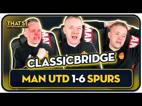 Man United 1-6 Tottenham Mark Goldbridge BEST BITS