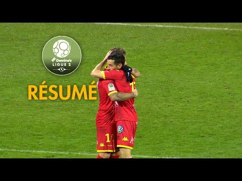 Quevilly Rouen Métropole - AJ Auxerre ( 4-1 ) - Résumé - (QRM - AJA) / 2017-18