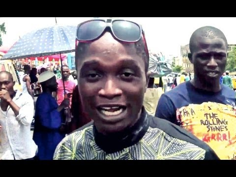Nigerian Comedy: How To Sell Curtains In Lagos !!