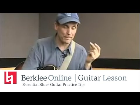 Essentielle Blues Gitarren Übungs Tipps