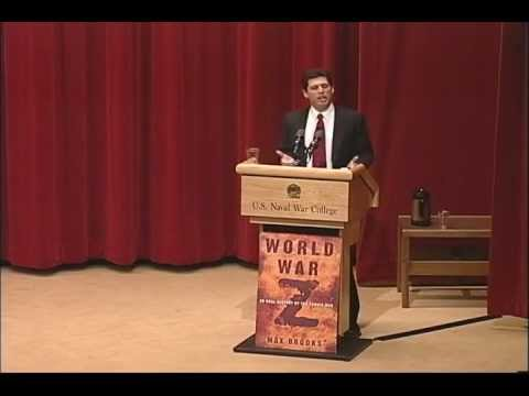 Max Brooks - Author Max Brooks discusses his book World War Z, and the real idea it represents, at the U.S. Naval War College's 2009 Lecture of Opportunity. Dec. 16, 2009...