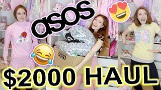Video I SPENT $2000 AT ASOS!! HAUL AND TRY ON: LAZY OAF, SKINNYDIP LONDON, FENTY PUMA, HELLO KITTY MP3, 3GP, MP4, WEBM, AVI, FLV Desember 2018