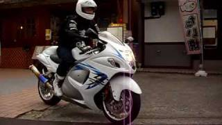 5. The ultimate high-speed bike 09 GSX1300R HAYABUSA Suzuki