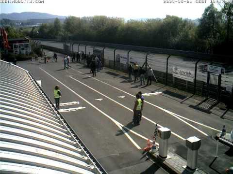 Nurburgring Webcam Timelapse taken 1st May 2009