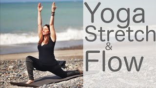 Video 36 Minute Yoga Stretch and Flow on the Weekend or Anytime With Fightmaster Yoga MP3, 3GP, MP4, WEBM, AVI, FLV Maret 2018