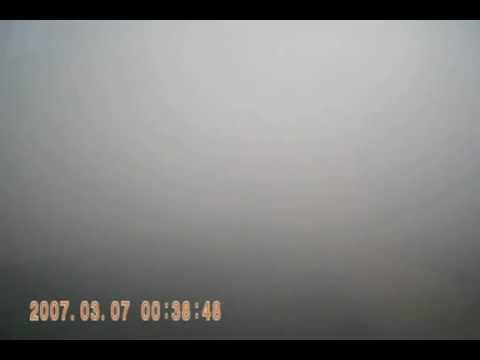 ДТП в тумане авария / Suddenly in the FOG. Сar accident caught on camera