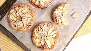Almond Apple Tart Recipe - Laura Vitale - Laura in the Kitchen...