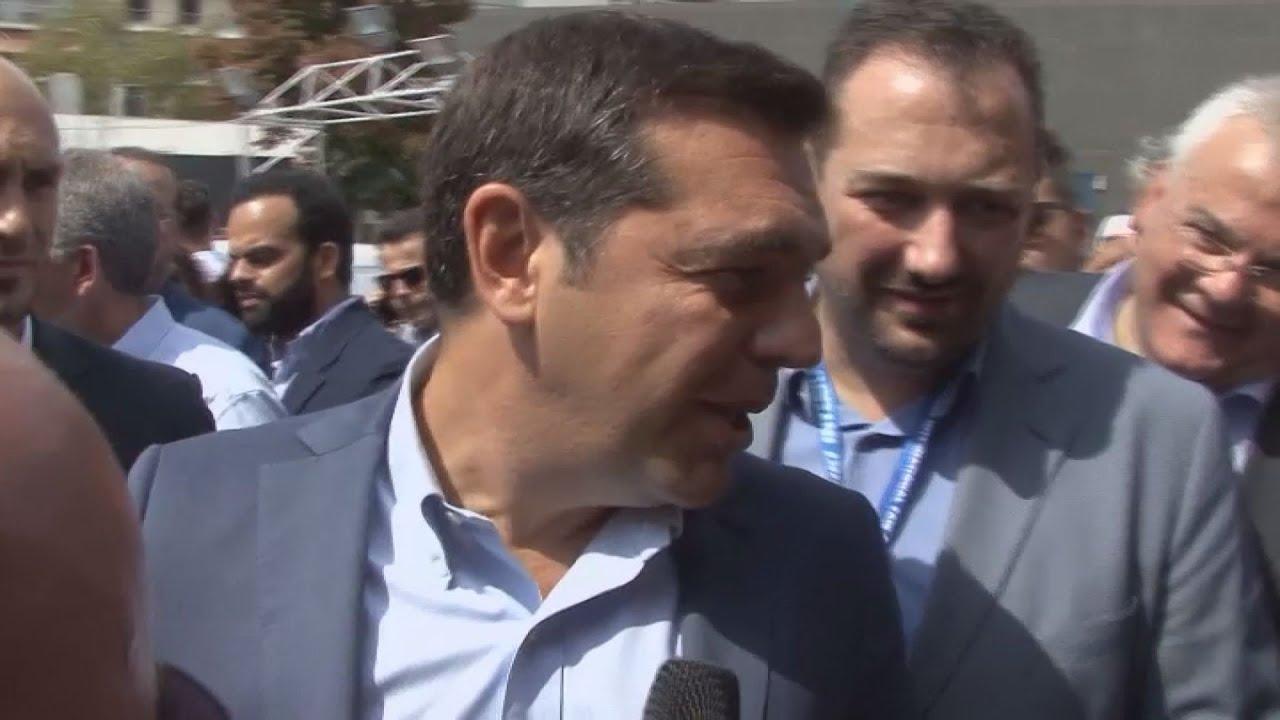 Αποκλειστική δήλωση του Αλέξη Τσίπρα στην κάμερα του ΑΠΕ-ΜΠΕ