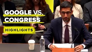 Google's congressional hearing highlights in 11 minutes