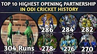 Video Top 10 Highest Opening Partnership In ODI Cricket History   Highest Opening Stand In ODI Cricket MP3, 3GP, MP4, WEBM, AVI, FLV Agustus 2018