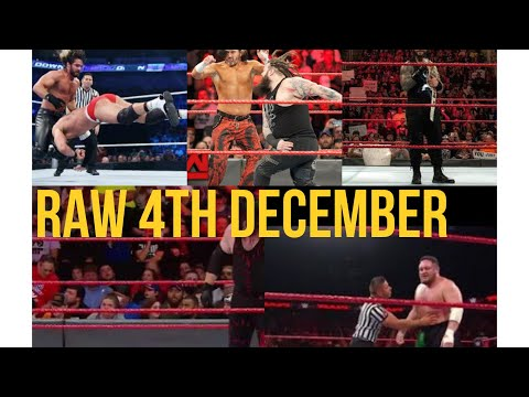 Download WWE Raw 4th December 2017 Highlights HD   Monday Night Raw 4 12 2017 Highlights HD   Full Show HD Mp4 3GP Video and MP3