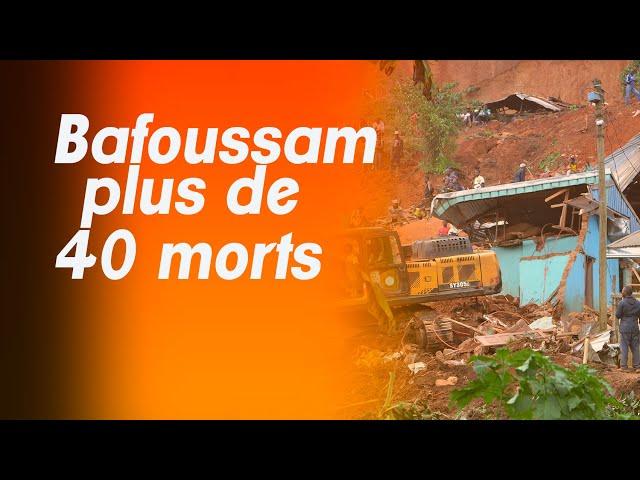 GLISSEMENT DE TERRAIN A L'OUEST DU CAMEROUN,LE DR ESSOMBA S'ADRESSE AUX BETI ET AUX BAMILEKE. ACTE 2