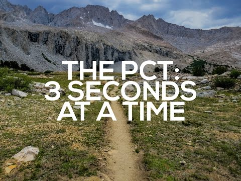 Guy walks 2,660 miles on the Pacific Crest Trail from Mexico to Canada and takes a 3 second video every day.