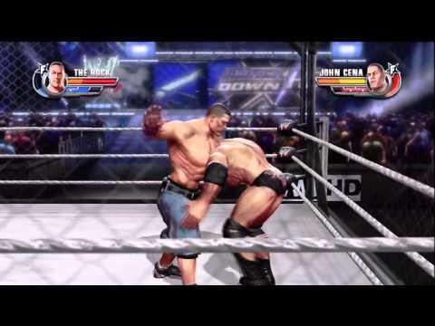 HBK, Triple H, Brock Lesnar, Batista, Umaga, Eugene, and John Cena