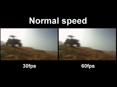 30fps - Video of a RZR playing around in both 30fps and 60fps, regular speed and slow motion. In general 60fps produces great slow motion shots, however as you can s...