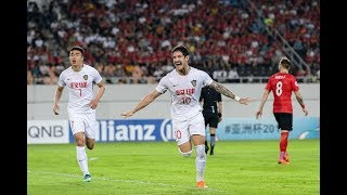 Video Guangzhou Evergrande 2-2 Tianjin Quanjian FC (AFC Champions League 2018: Round of 16 – 2nd Leg) MP3, 3GP, MP4, WEBM, AVI, FLV Juli 2018