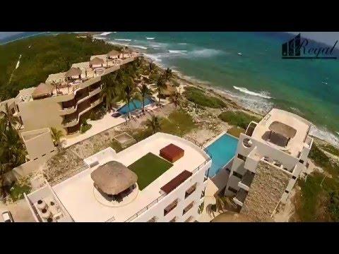 caban condos new drone video costa maya mahahual life