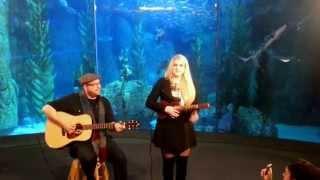 Meghan Trainor VEVO Pop Up Acoustic at the Aquarium