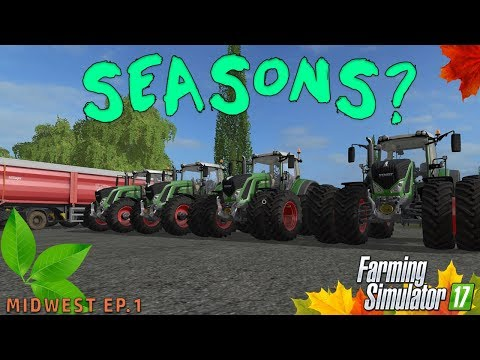 MIDWEST SEASONS MAP! | Farming Simulator 2017