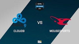 C9 vs mouz, game 1