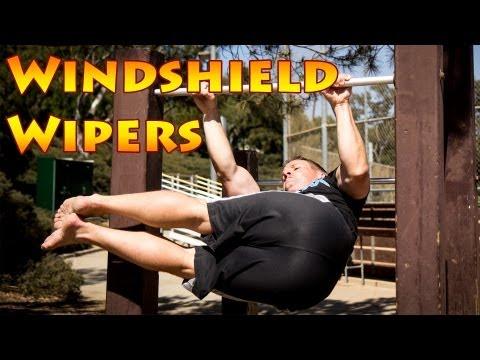 体幹に自信のある方は挑戦を!ウィンドシールドワイパー