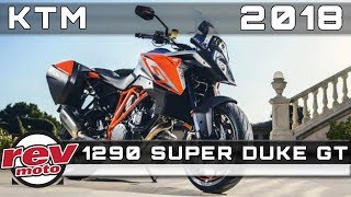 8. 2018 KTM 1290 SUPER DUKE GT Review Rendered Price Release Date