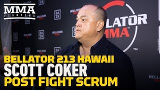 Video Bellator 213: Scott Coker Says UFC 233 Cancellation Was Because They 'Ran Out of Bullets' MP3, 3GP, MP4, WEBM, AVI, FLV Desember 2018