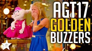 Watch ALL the Golden Buzzers on America's Got Talent 2017. Who was your favourite Golden Buzzer? Let us know in the comments below.. Got Talent Global brings together the very best in worldwide talent, creating a central hub for fans of the show to keep up to date with the other sensational performances from around the world.Watch more America's Got Talent: https://www.youtube.com/watch?v=a5YuCSflu8kWatch the original, full length clip: Darci Lynne - America's Got Talenthttps://www.youtube.com/watch?v=rk_qLtk0m2cMandy Harvey - America's Got Talenthttps://www.youtube.com/watch?v=ZKSWXzAnVe0Christian Guardino - America's Got Talenthttps://www.youtube.com/watch?v=WsskVYisG60Light Balance - America's Got Talenthttps://www.youtube.com/watch?v=3oUMkoKEcycAngelina Green - America's Got Talent https://www.youtube.com/watch?v=KSmsIsLTd6oSubscribe to Got Talent Global: http://www.youtube.com/user/gottalentglobalWatch more Got Talent Global videos: https://www.youtube.com/watch?v=w-z5mbZ-yCI&list=PLF-BDTAHX0p5xf2caJw3l9oPmuHI0PJRAFacebook: https://www.facebook.com/gottalentglobalTwitter: https://twitter.com/gottalentglobal