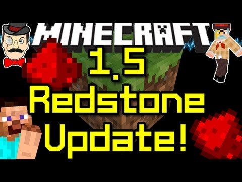 Minecraft News 1.5 UPDATE! Redstone Capacitor & More!