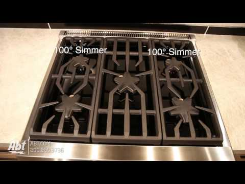 Thermador 30 Professional Series Pro Harmony Standard Depth Gas Range PRG305PH - Overview